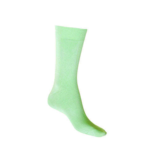Mint Mercerised Cotton Sock with Tough Toe™