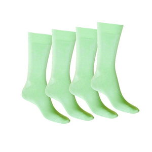 Mint Mercerised Cotton Sock with Tough Toe™ - 4 Pack Special