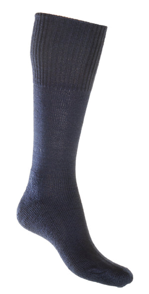 Woollen Long Hiking Adventure Sock Navy | Shop Online Australia LAFITTE Clothing