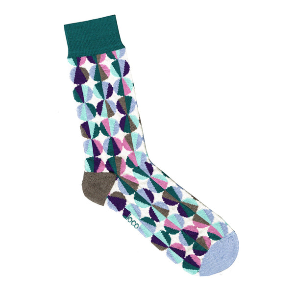 Multi-Colour Spot Socks | Shop Online | LAFITTE Australia