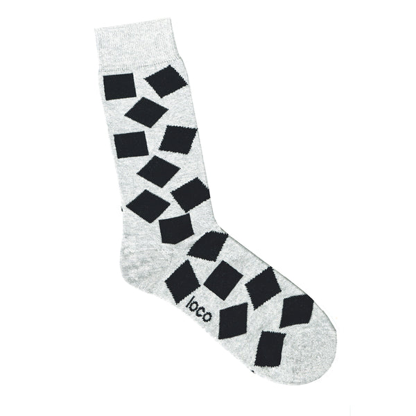 Scattered Square Sock
