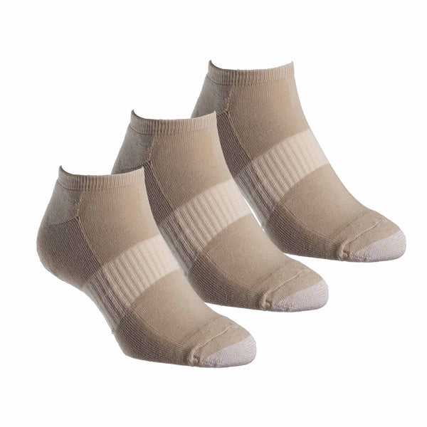 Tough Toe™ Ped Sports Sock - 3 Pack Special