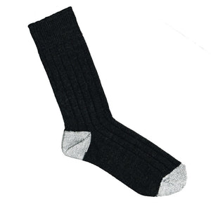 Wool Ribbed Sock