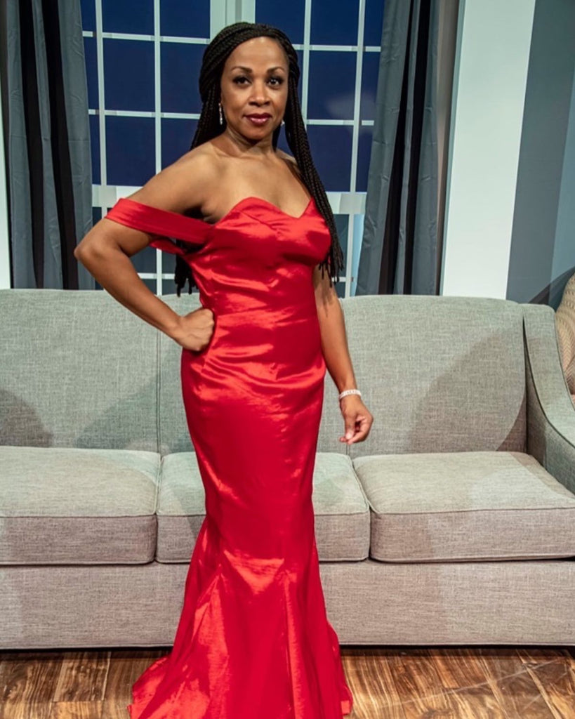 "Red Carpet Gown for JCC Centerstage ""Division Street"""