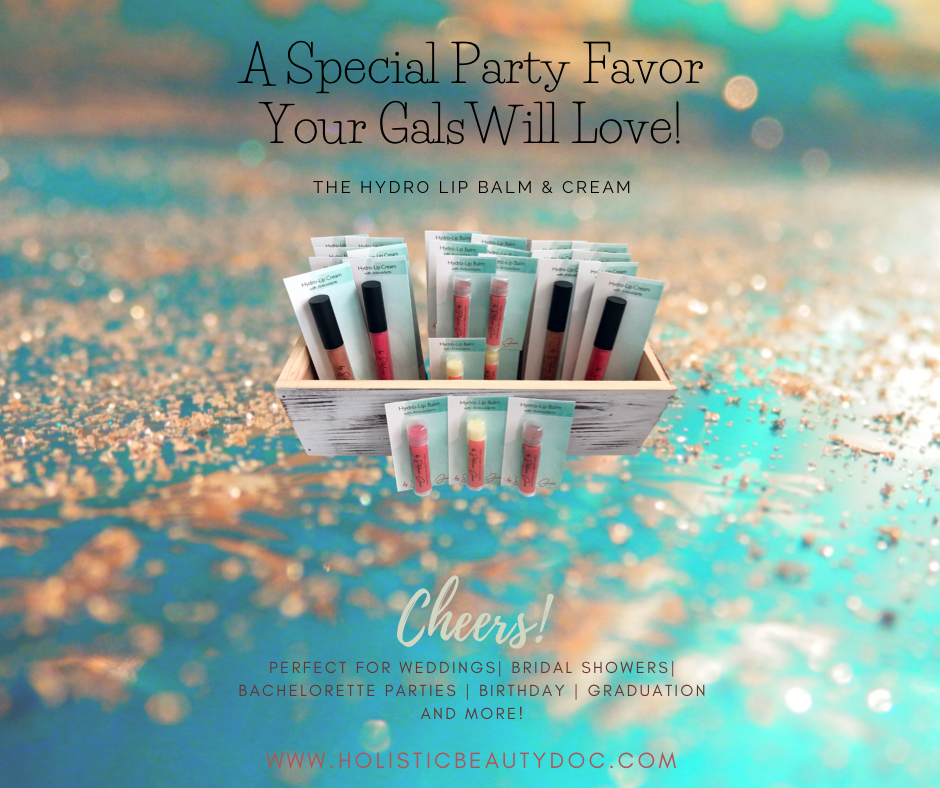 A Special Party Favor Your Gals Will Love | Natural Lip Balm & Cream