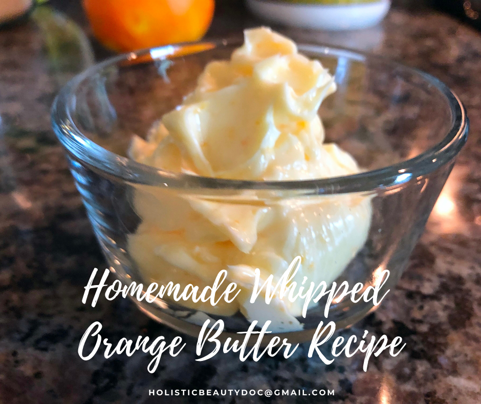 Homemade Whipped Orange Butter Recipe