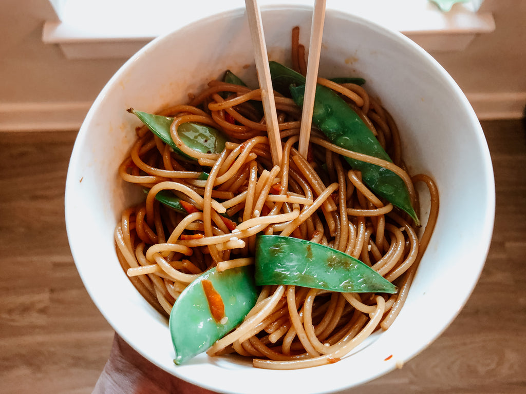 Gluten Free Spicy Thai Noodles Recipe