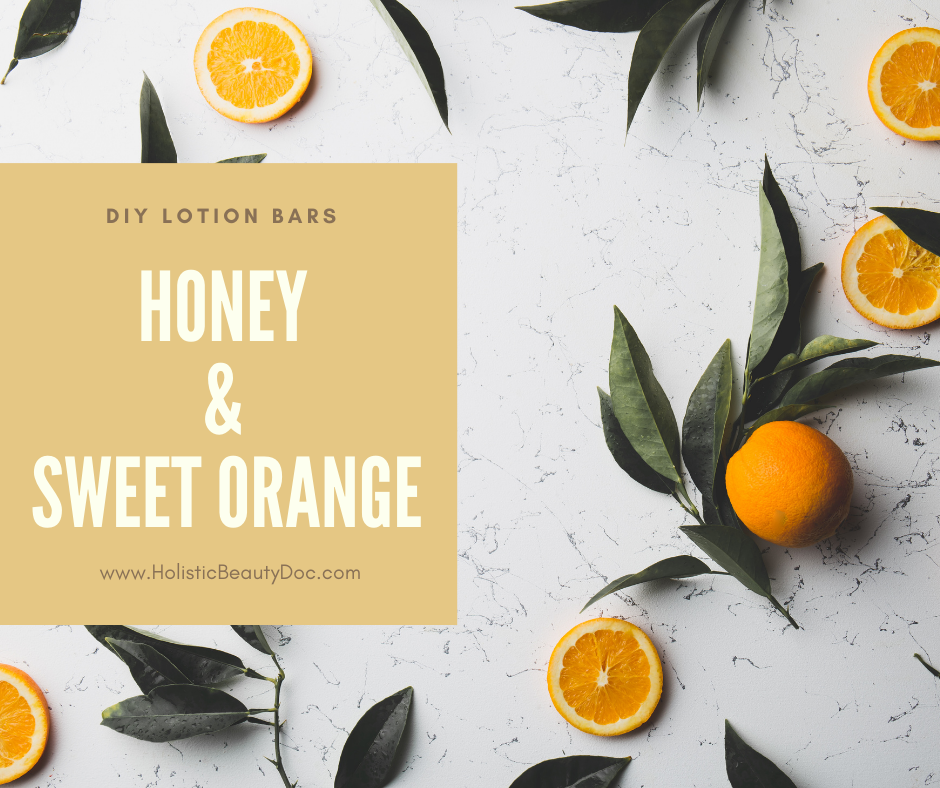 Honey & Sweet Orange DIY Lotion Bars Recipe