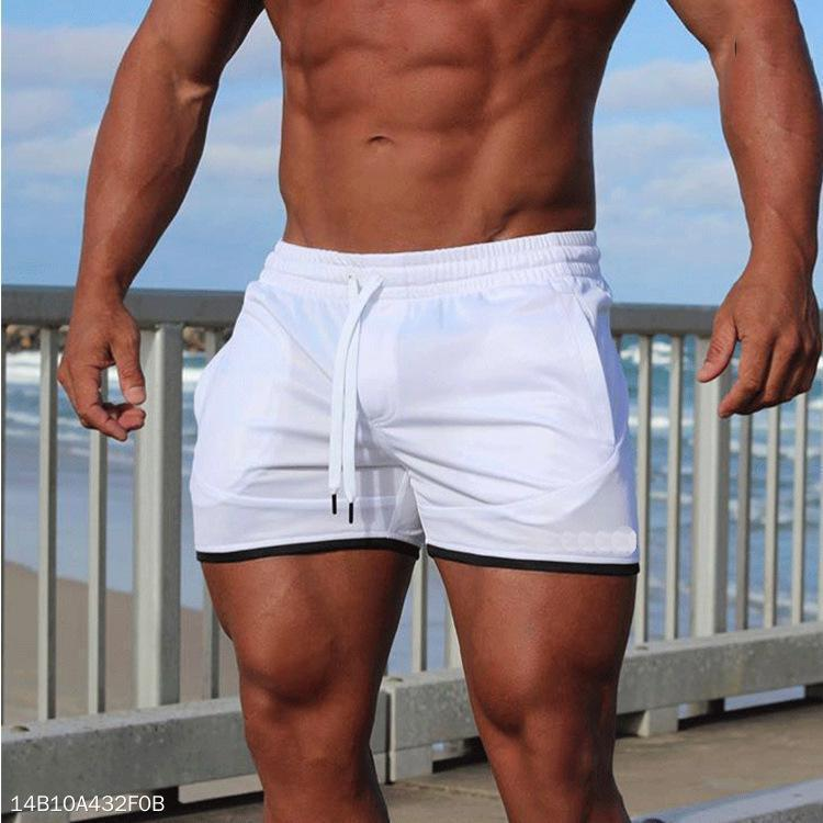 Casual Loose Plain Beach Shorts
