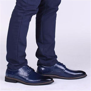 Fashion Business Formal Leather Plain Suit Shoes