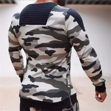 Load image into Gallery viewer, Fashion Youth Casual Sport Slim Print Round Neck Long Sleeve Top