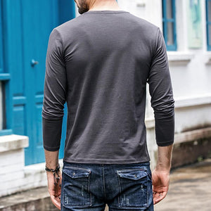 Mens Esstential Long Sleeve T-Shirt