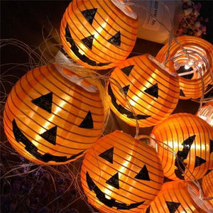Halloween Stylish Trick Decoration Pumpkin Lamp