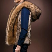 Load image into Gallery viewer, Casual Winter Plain Fur Thick Vest Coat