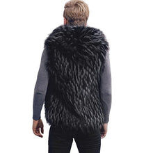 Load image into Gallery viewer, Casual Winter Faux Fur Plain Vest Coat
