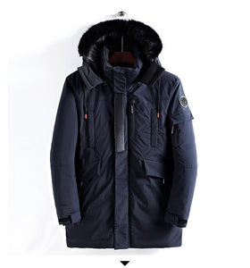 New Large Size Warm Outwear Winter Windproof Jacket