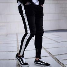 Load image into Gallery viewer, Chic Plain Zipper Slim Pencil Jeans Pants