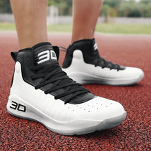 Load image into Gallery viewer, Fashion Casual Stripe Breathable High-Top Basketball Shoes