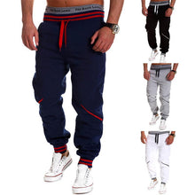 Load image into Gallery viewer, Men's Contrast Sports Casual Pants