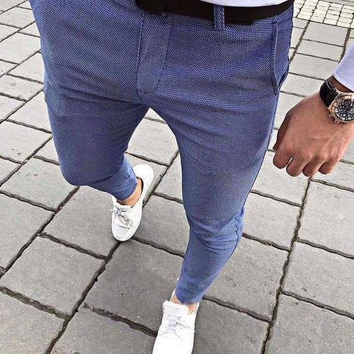 Men's Commuting Slim Fit Pants