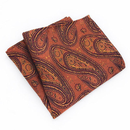 Fashion Printed Suit Pocket Towel Scarfs