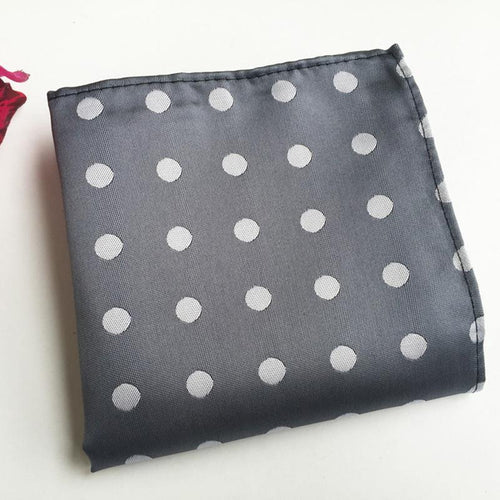 Fashion Retro Polka Dot Printed Men's Suit Pocket Towels