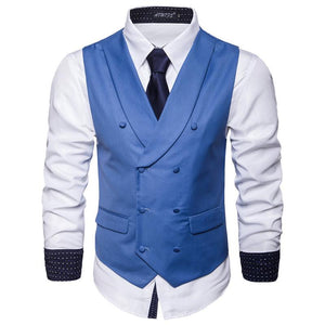 Autumn Hot Plain Business Vest