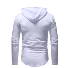 Load image into Gallery viewer, Fashion Hole Zipper Stitching Sweater