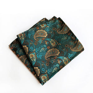 Fashion Paisley Damask Men's Handkerchief Squares