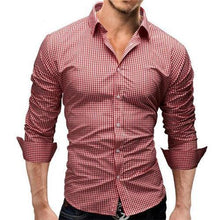 Load image into Gallery viewer, Fashion Loose Button Check Shirt