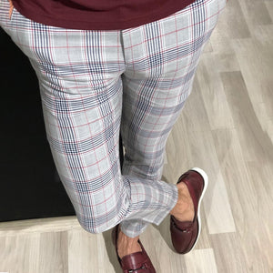 New Men's Casual Placket Pants
