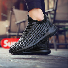 Load image into Gallery viewer, Soft and comfortable breathable woven couple sneakers