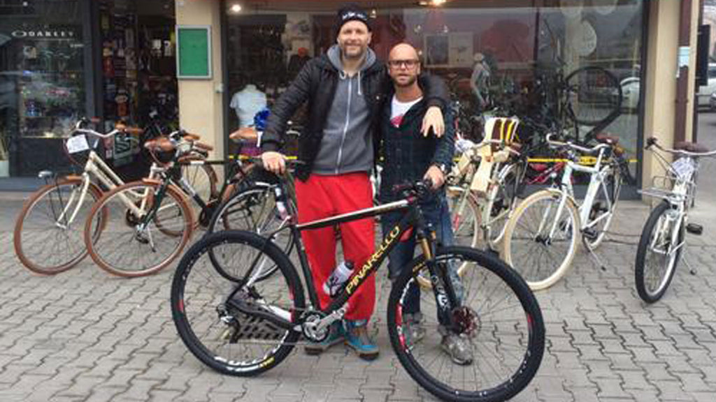 JOVANOTTI AL BALDONI BIKE SHOP