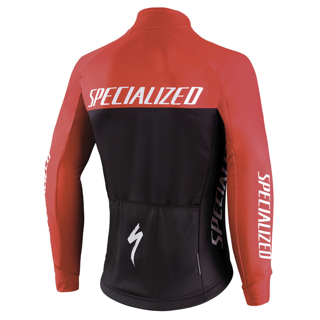 Giacca Specialized Element Rbx Comp Logo Team - Nero/Rosso