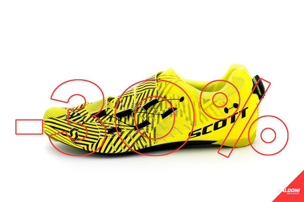SCARPE SCOTT ROAD TRI CARBON giallo tg 43