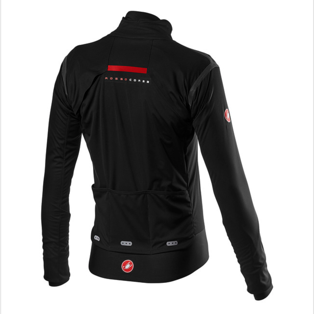 CASTELLI ALPHA ROS 2 JACKET BLACK