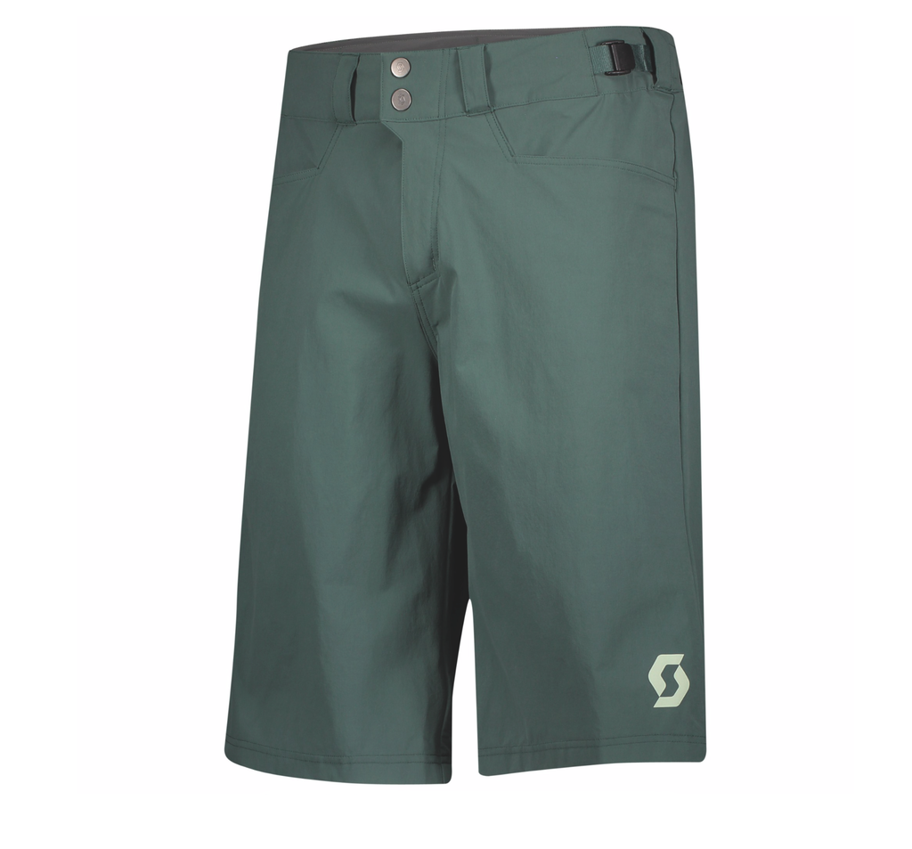 SCOTT PANTALONCINI DA UOMO TRAIL FLOW C/FOND smoked Green