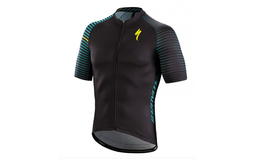 Maglia Specialized SL Expert Jersey Blue Aspect