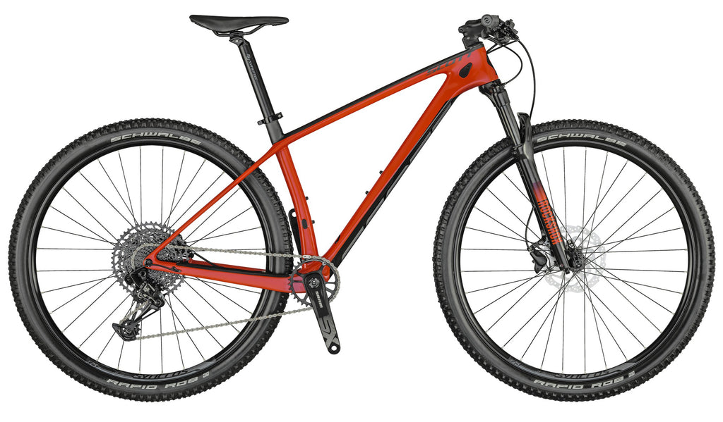 SCOTT SCALE 940 RED 2021