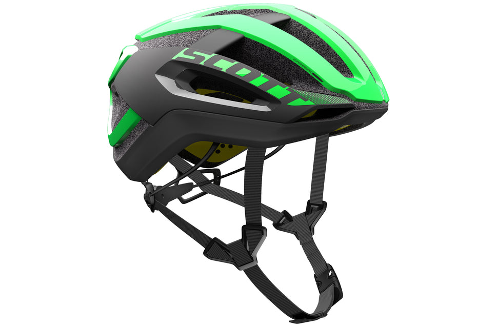 Casco Scott Centric Plus Verde/Nero