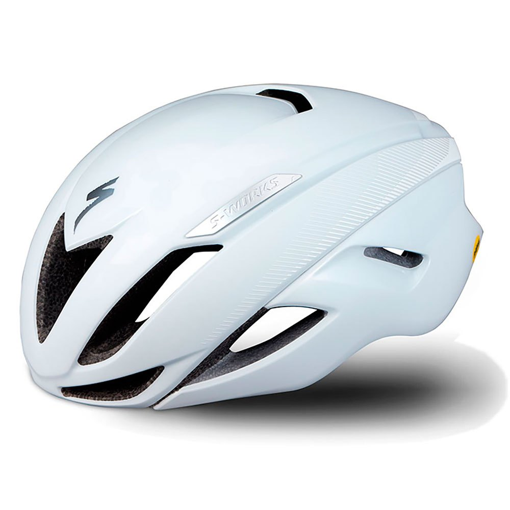 CASCO SPECIALIZED W-WORKS EVADE II MIPS ANGI BIANCO