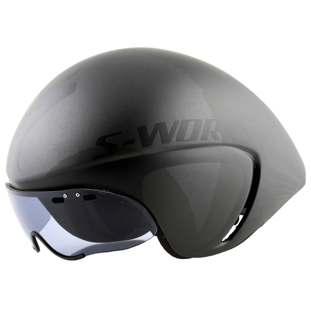CASCO SPECIALIZED S-WORKS TT -Nero