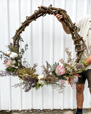Load image into Gallery viewer, Mowgli's Floral Wreath