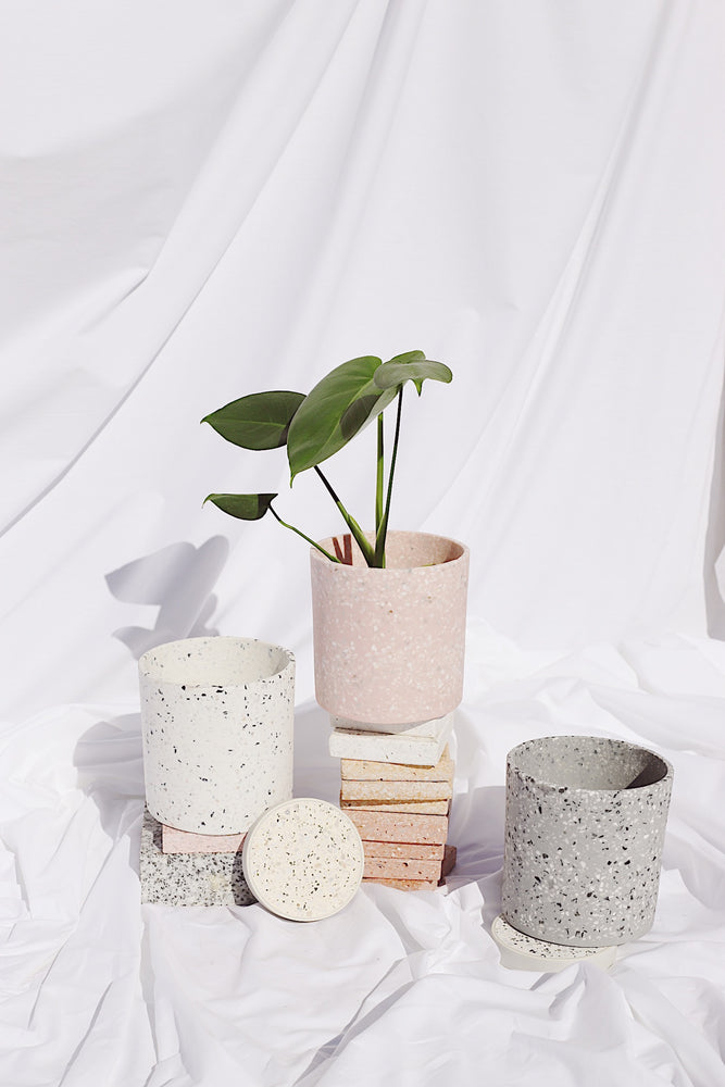 Load image into Gallery viewer, Terrazzo Planter