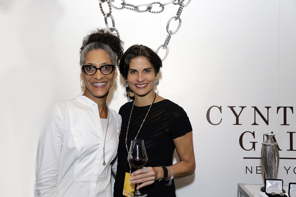 Legendary Culinary Icons & Beloved TV Chefs Flaunt Cynthia Gale NY Jewelry at NYCWFF
