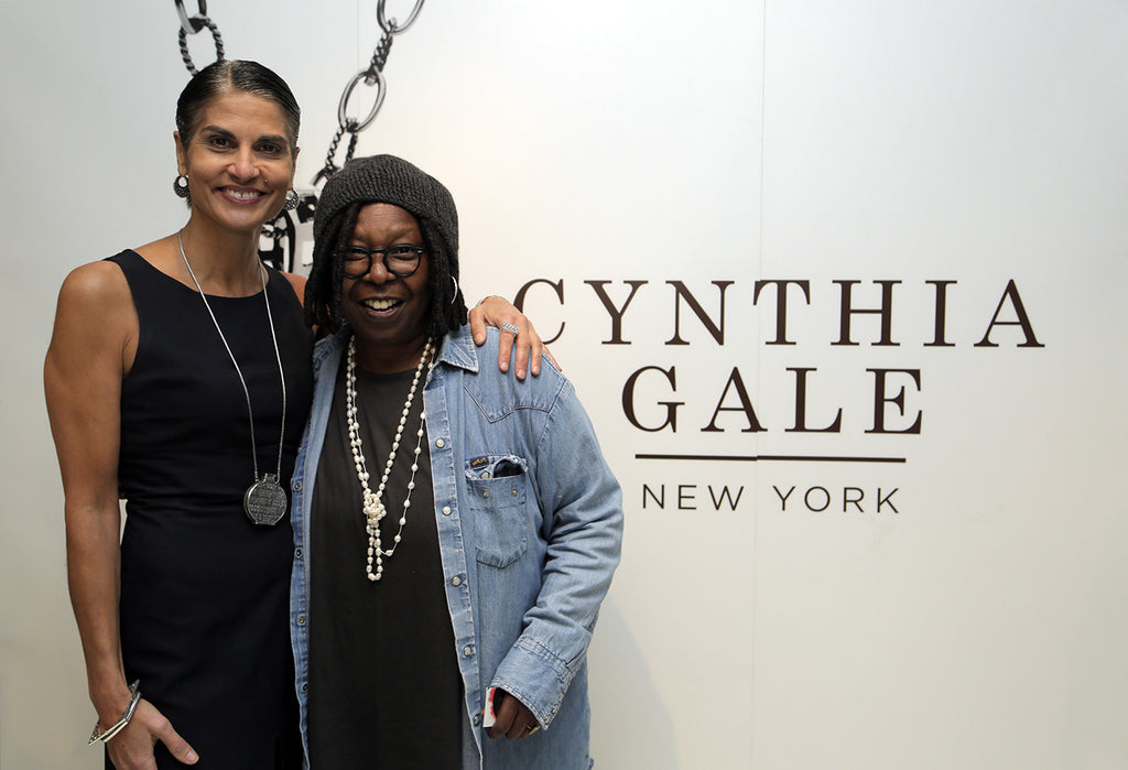 Celebs Rock Cynthia Gale NY Jewelry At Mercedes Benz Fashion Week