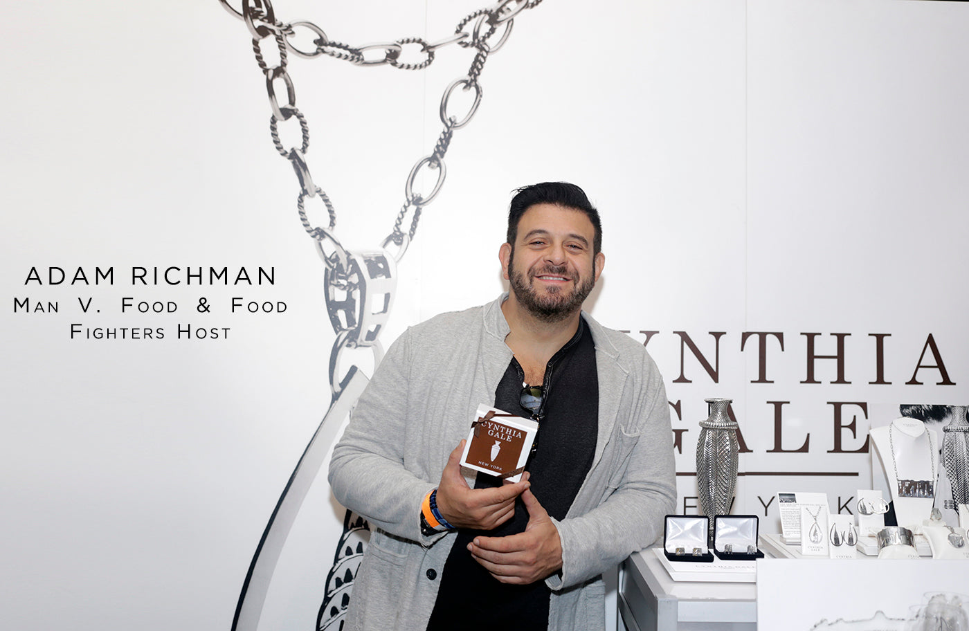 Adam Richman fashion style