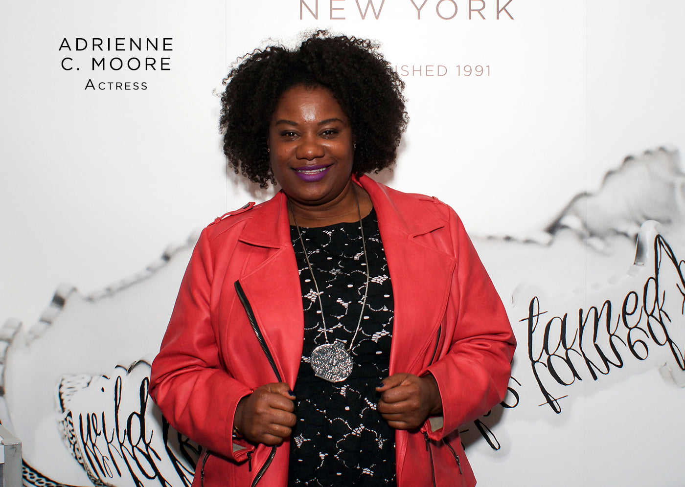 Adrienne C. Moore fashion style