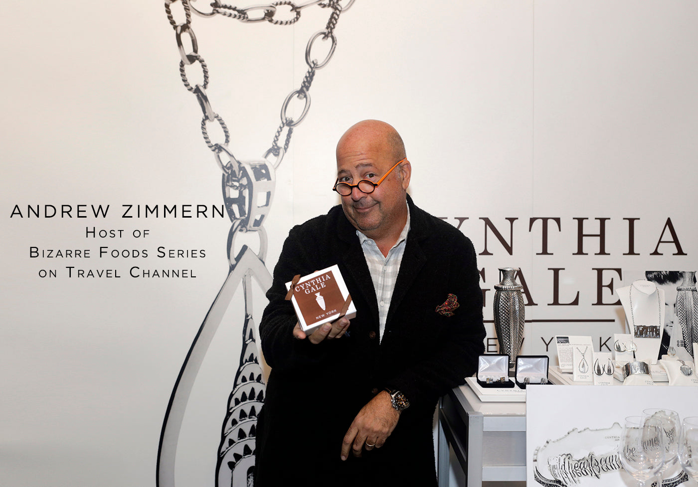Andrew Zimmern fashion style