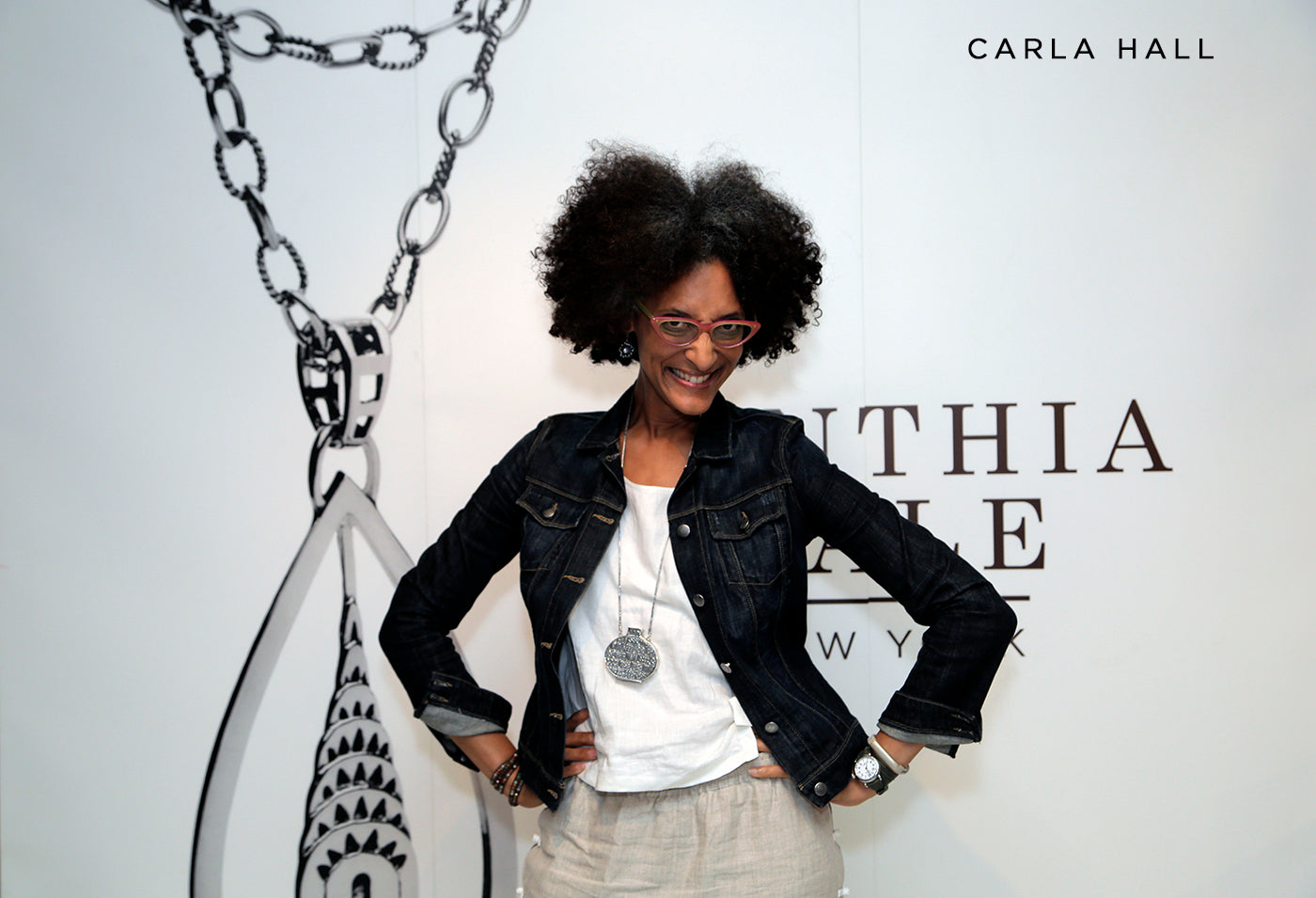 Carla Hall style fashion